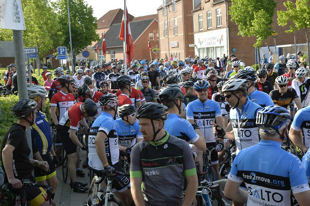 Flere hundrede motionscykelryttere kommer til start lørdag i Gørlev. Foto: Jens Nielsen