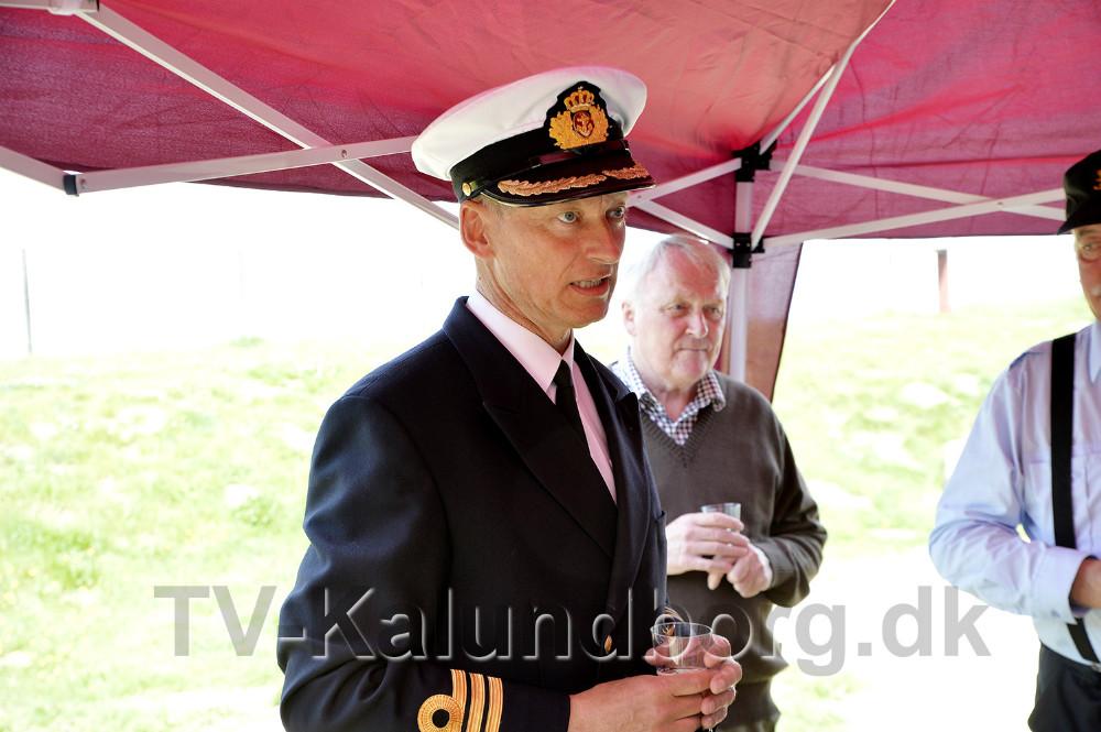 Orlogskaptajn Heinrich Evers, chef for Maritimt Overvågnings Center. Foto: Jens Nielsen