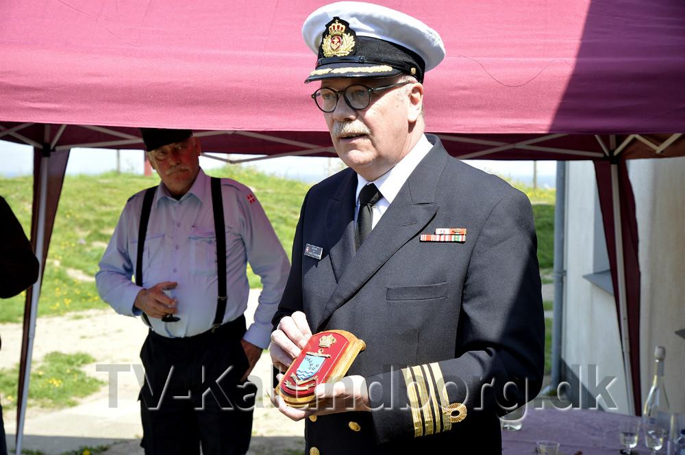Gustav Lang, kommandørkaptajn og chef for Søværnets Overvågnings Enhed. Foto: Jens Nielsen