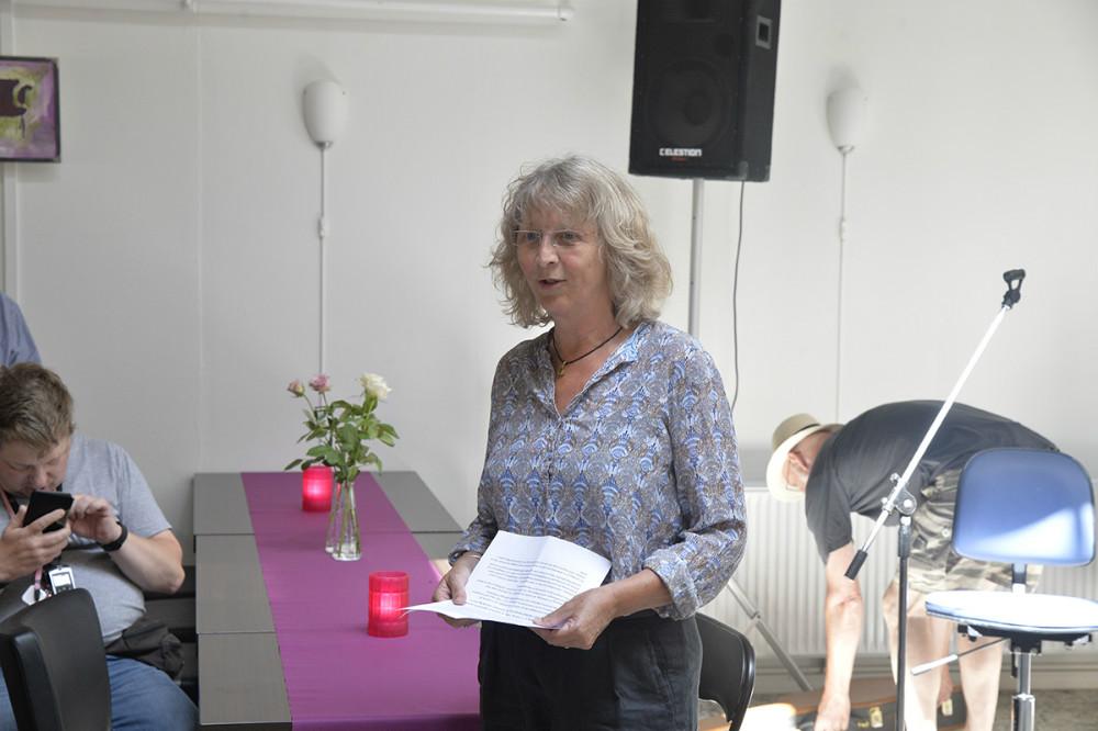 Sonja Larsen var med til at starte Solsikken for 25 år siden. Foto: Jens Nielsen