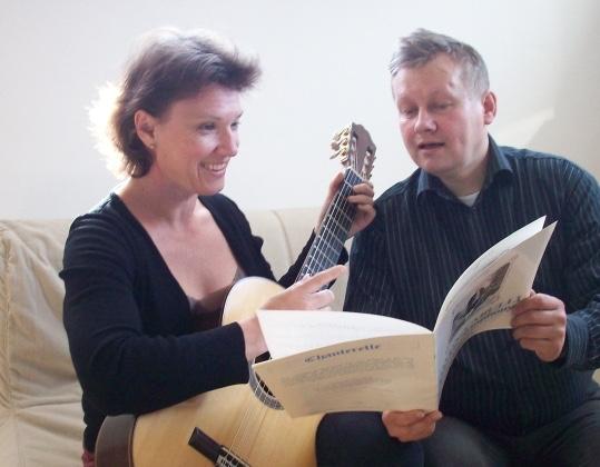 Maria Camitz og Leif Hesselberg