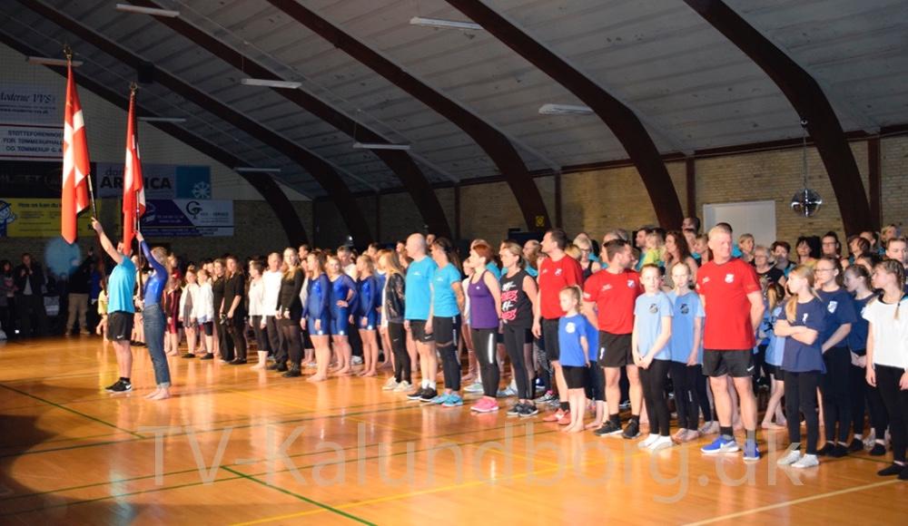 Der var fulde huse, da TGU havde inviteret tilgymnastikopvisning i Tømmeruphallen i går. Foto: Gitte Korsgaard