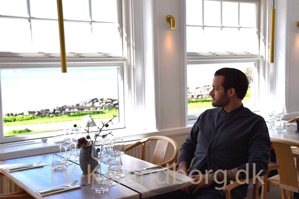 Jan Christian Jensen, der er projektleder på Strandhotel Røsnæs. Foto: Gitte Korsgaard.