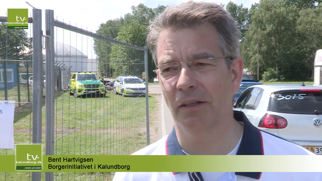 Bent Hartvigsen fra Borgerinitiativet, der står for arrangementet sammen med DASU.