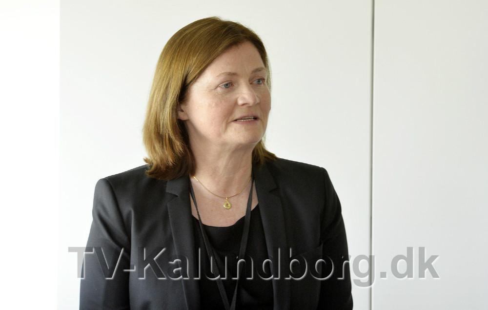Raffinaderidirektør Jofrid Klokkenhaug. Foto: Jens Nielsen