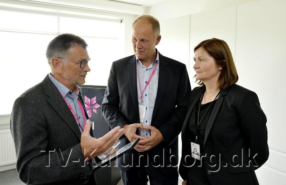 Troels Birk Kristoffersen, Martin Damm og Jofrid Klokkenhaug. Foto: Jens Nielsen