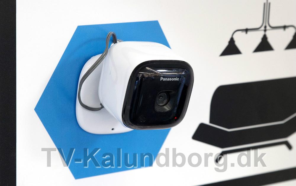Der findes kamera til brug både indendørs og udendørs. Foto: Jens Nielsen