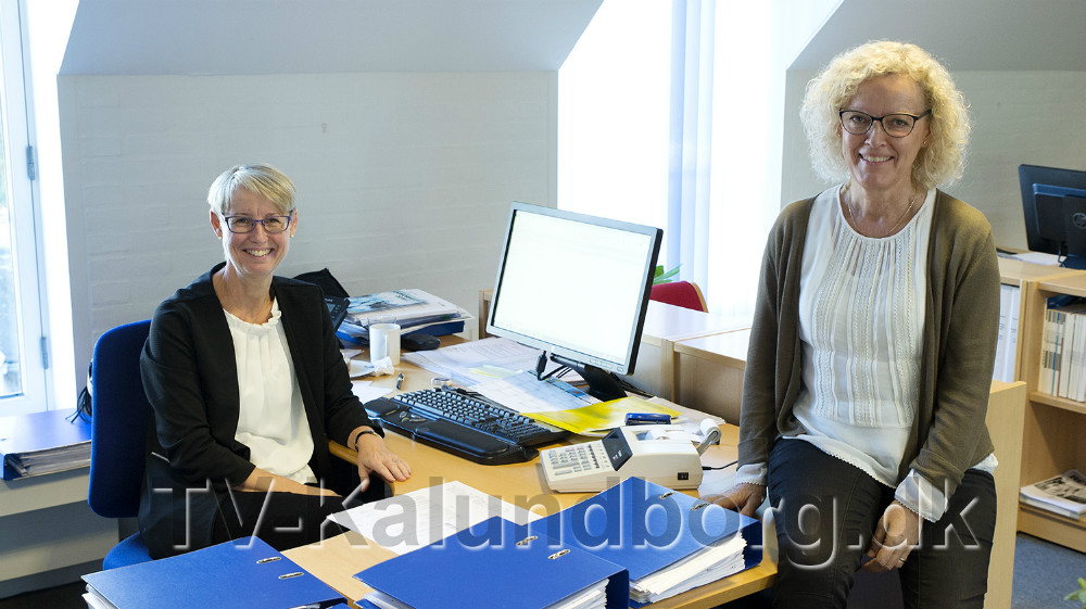 Fra venstre, revisor Jette Christiansen og revisor Hanne Bruun Nielsen. Foto: Jens NIelsen