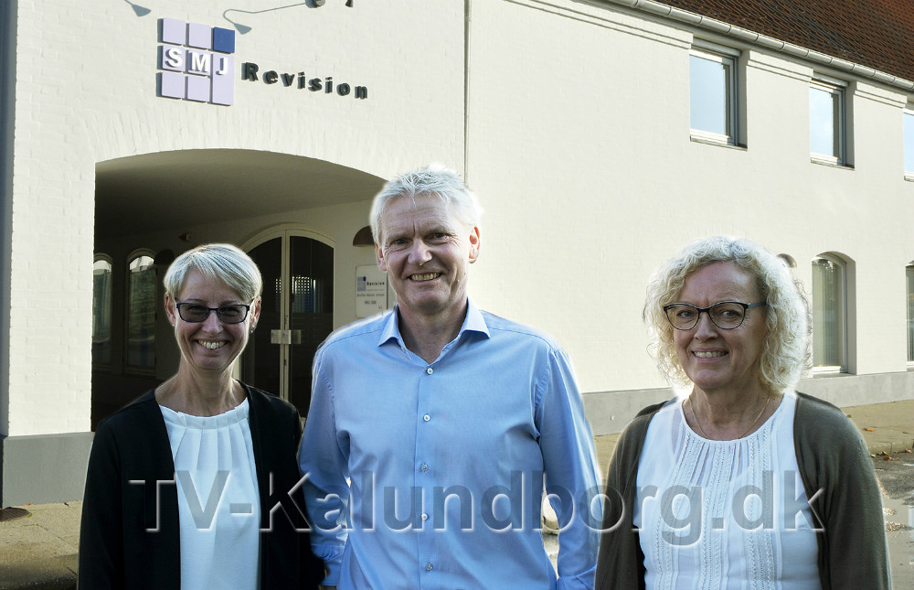 Fra venstre, revisor Jette Christiansen, revisor Steffen Møller Jensen, og revisor Hanne Bruun Nielsen. Foto: Jens NIelsen