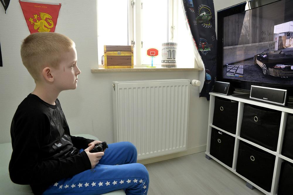 William i sit hjem. Foto: Jens Nielsen