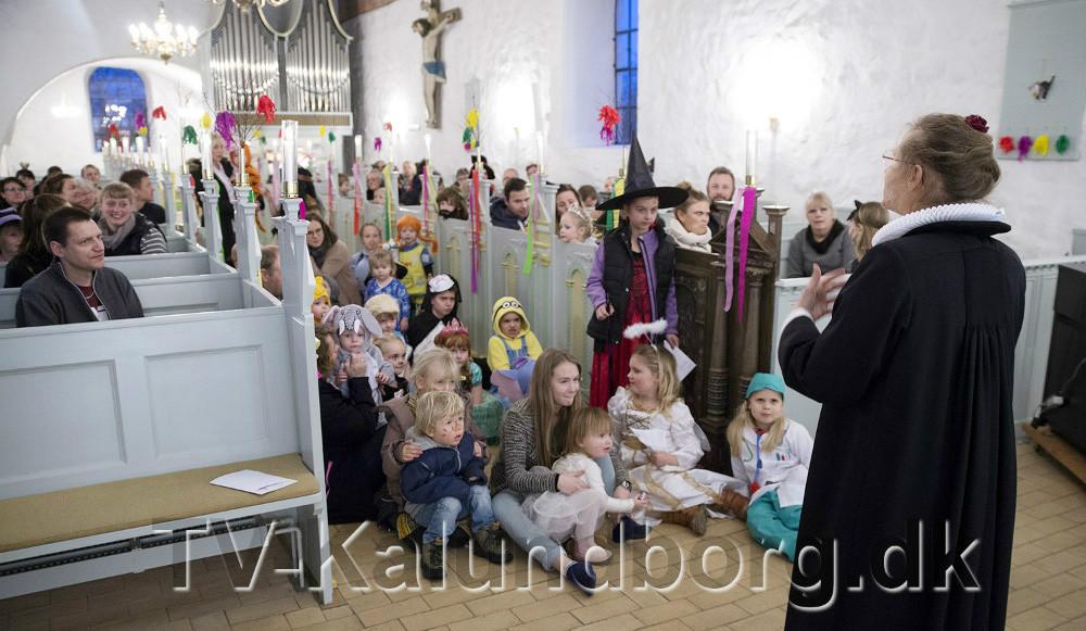 Billede fra sidste års fastelavnsfest. Foto: Jens Nielsen
