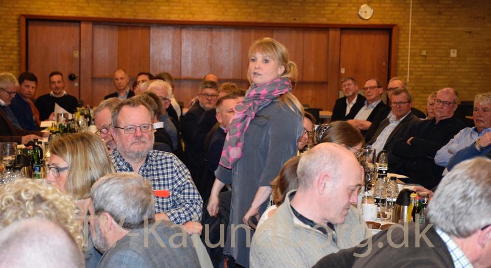 Pia Deluran er på genvalg til bestyrelsen, og blev valgt. Foto: Gitte Korsgaard.
