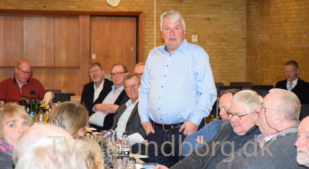 Mogens Gyldevang er på genvalg til bestyrelsen, og blev valgt. Foto: Gitte Korsgaard.