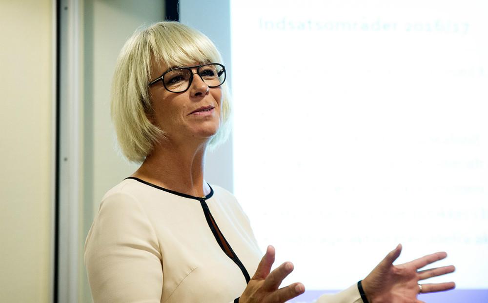 Der var ros fra bestyrelsen til koordinator Anita Winther. Foto: Jens Nielsen