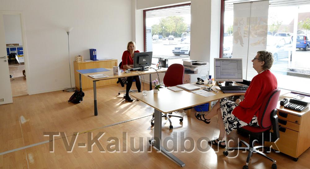 Lyse og venlige kontorfaciliteter. Foto: Jens Nielsen