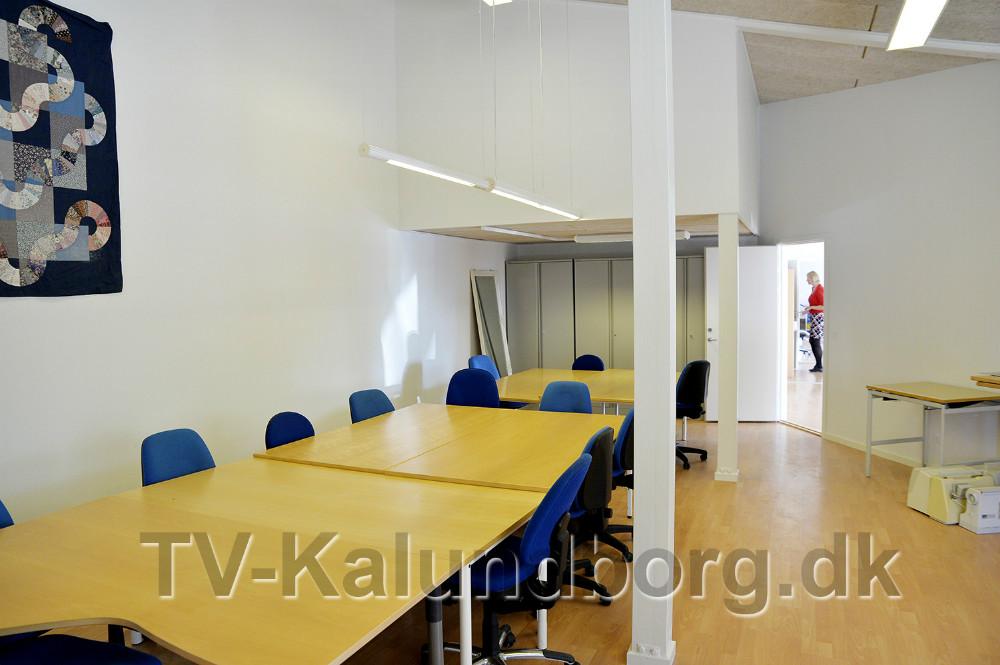 Undervisningslokale. Foto: Jens Nielsen