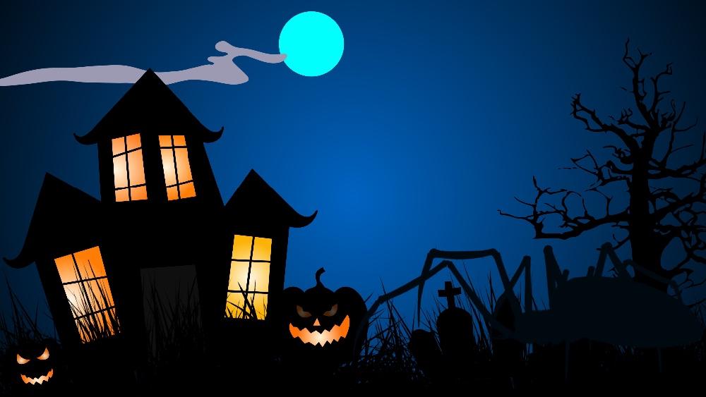 Halloween på Høng Bibliotek