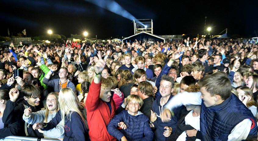 På søndag starter billetsalget til næste års rockbrag på Gis. Arkivfoto: Jens Nielsen