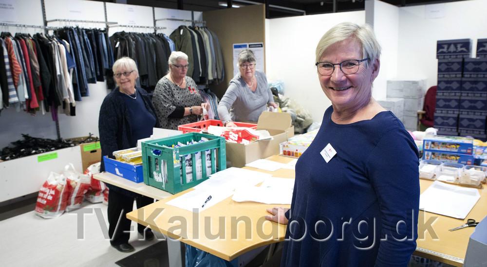 Else Marie Jespersen, der er formand for Røde Kors Kalundborg afdeling. Foto Jens Nielsen
