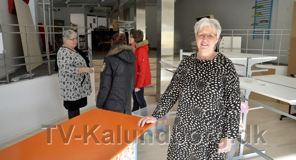 FormandDorthe Hornbæk-Jensen glæder sig til at den nye forretning åbner. Foto: Jens Nieslen