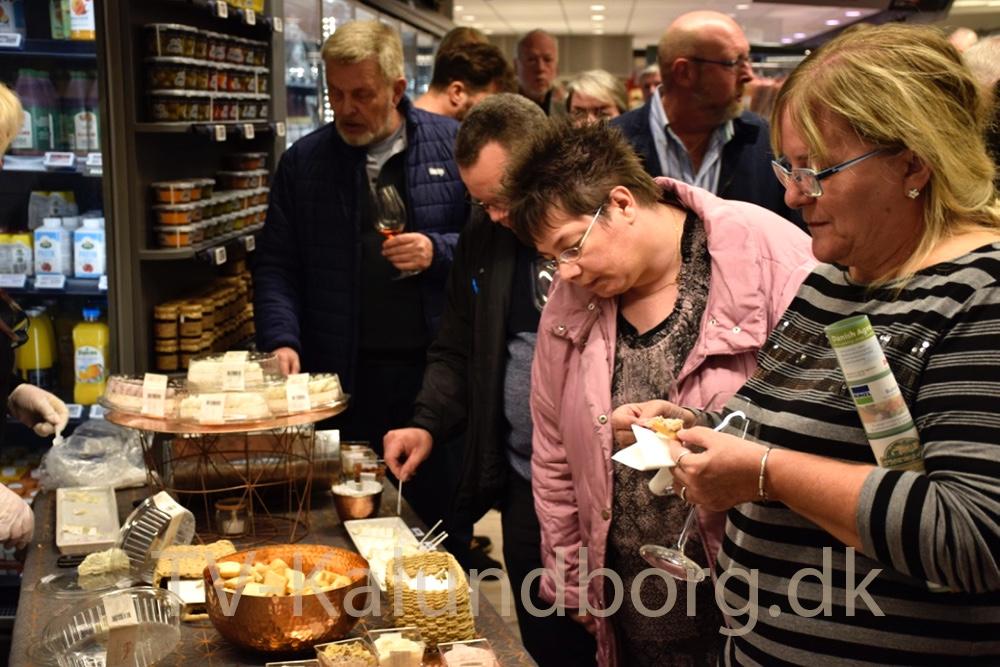 Mad i lange baner til Gourmetaften i Meny. Foto: Gitte Korsgaard