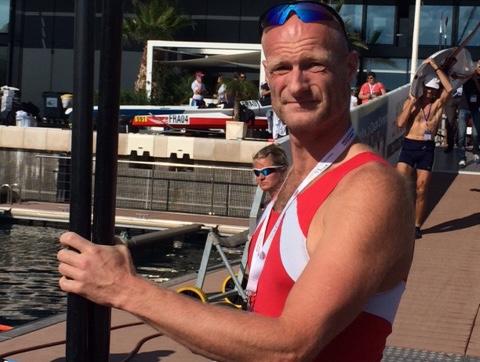 Formand for Kalundborg Roklub, Kåre Mattesen, blev nr. 11 vedVM i Monaco for coastal både.