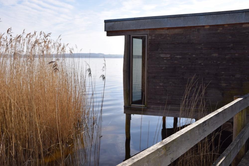 Udkigshus i Naturpark Åmosen ved Tissø. Foto: Gitte Korsgaard.