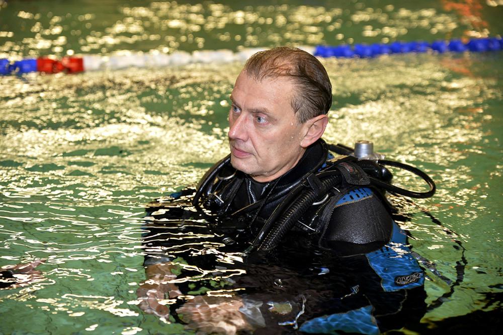 Dykkerinstruktør Allan Jensen. Foto: Jens Nielsen