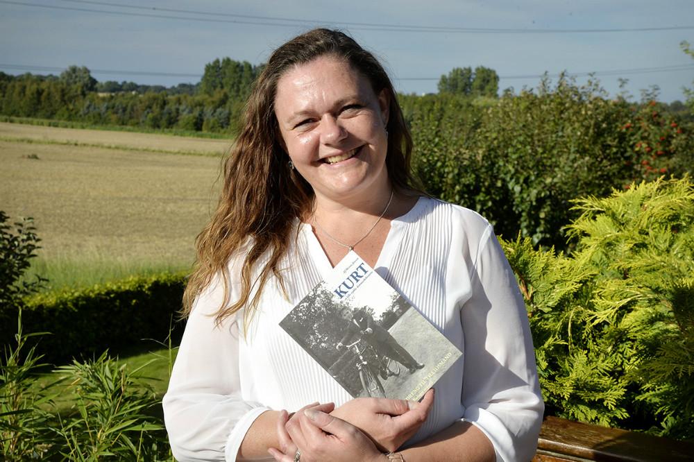 Journalist og forfatter Merete Jensen, Kalundborg. Foto: Jens Nielsen