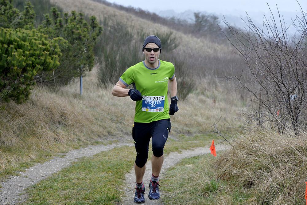 Vinder af 28 km. ruten, Morten Brændholt, Kalundborg. Foto: Jens Nielsen