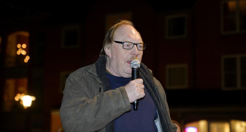 Dan Hansen, formand for Gørlev Handels- og Erhvervsforening. Foto: Jens Nielsen