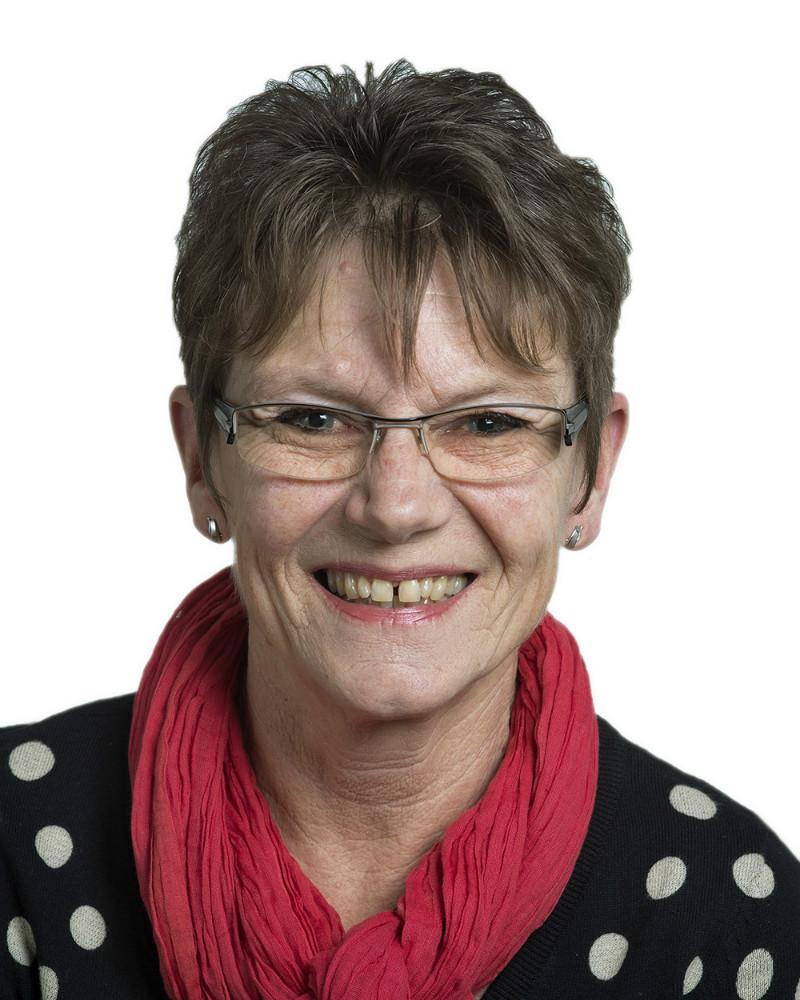 Gunver Jensen (S), formand for Handicaprådet og medlem af Kommunalbestyrelsen. Foto: Jens Nielsen