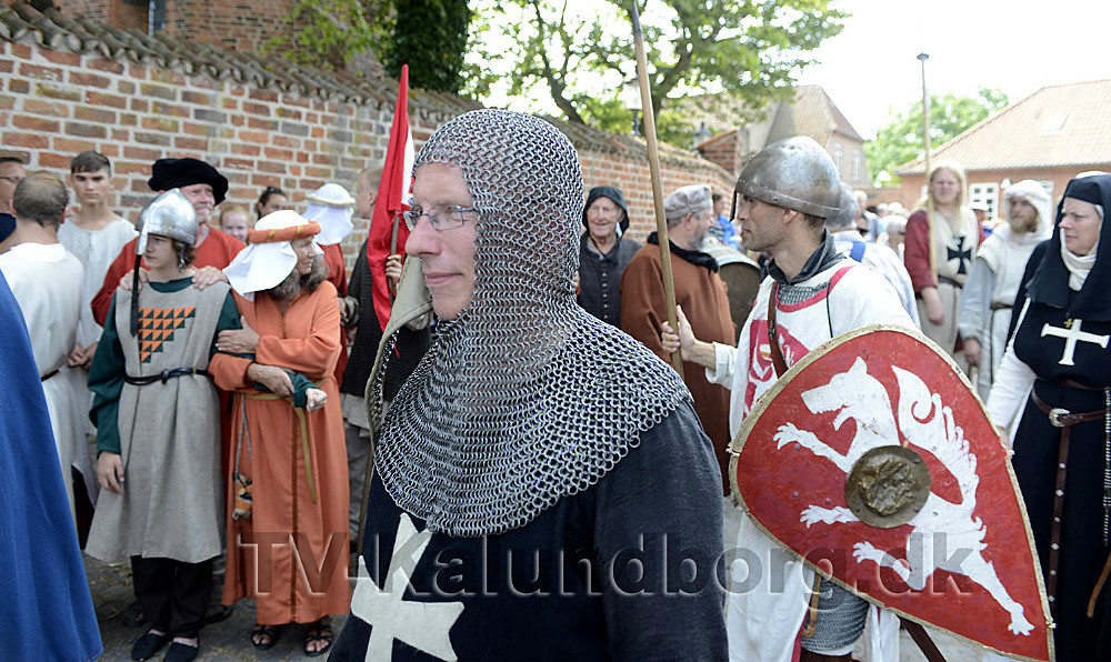Der har før været afholdt middelalderfestival i Kalundborg, i år skal den være meget større. Foto: Jens Nielsen