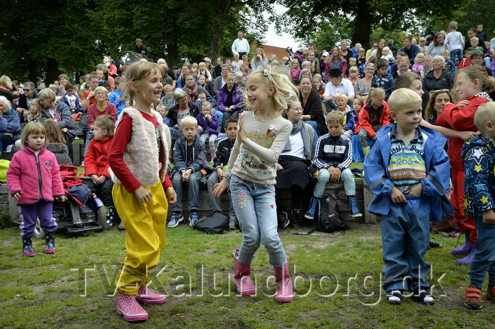 Børn og unge kan glæde sig til sommerens program. Foto: Jens Nielsen