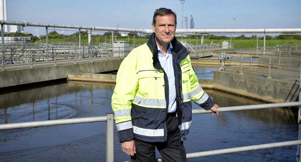Hans-Martin Friis Møller, direktør for Kalundborg Forsyning. Foto: Jens Nielsen