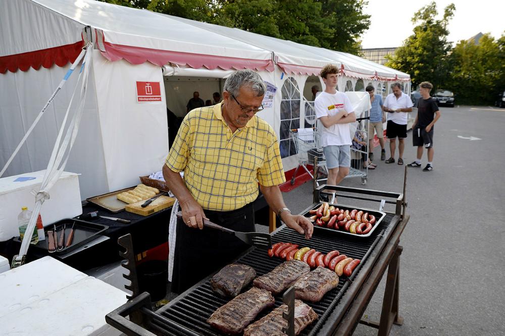 Kok Jens Andersen sørgede for den gode mad. Foto: Jens Nielsen