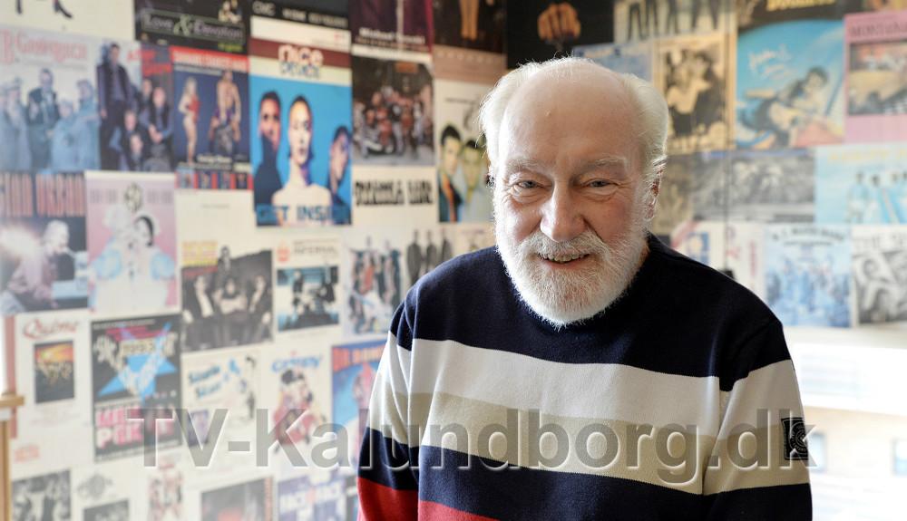 Richard Poulsen har drevet Juvi Klubben i 55 år. Foto: Jens Nieslen