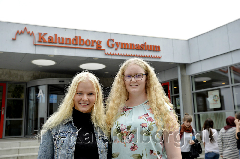 Josephine Tobiassen og Rikke Louise Tordrup. Foto: Jens Nieslen