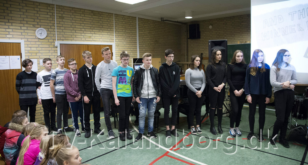8. klasse på Ubby Friskole. Foto: Jens Nielsen