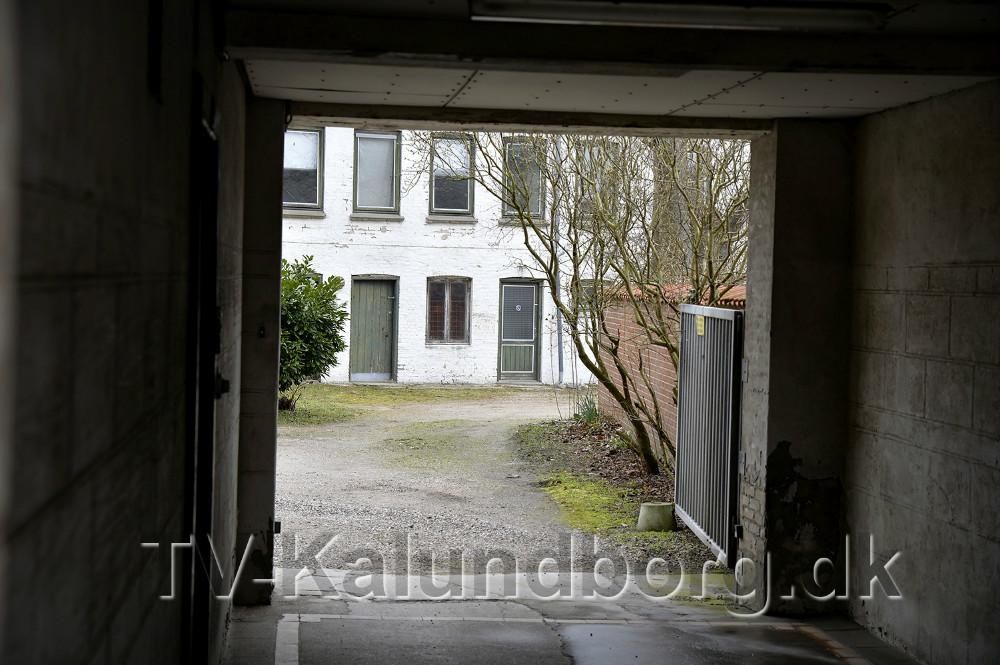 Baghuset i Kordilgade 58 skal rives ned for at give plads til en sti mellem Kvickly og Kordilgade. Foto: Jens Nielsen