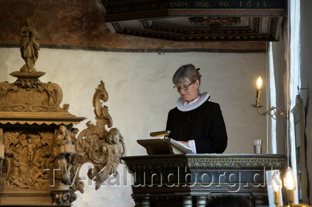 Sognepræst Helle Brink. Foto: Jens Nielsen