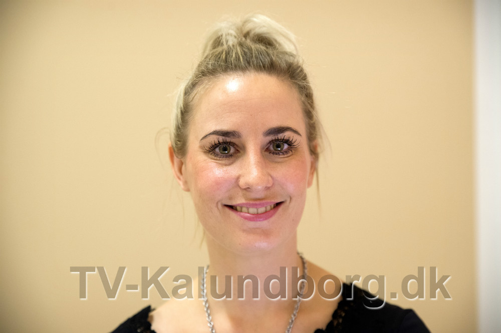 kosmetolog Isabella Montserrat er klar til at tage imod kunderne på torsdag. Foto: Jens Nielsen