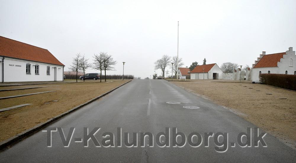 Den lille bakketop giver dårlige trafiksikkerhed. Foto: Jens Nielsen
