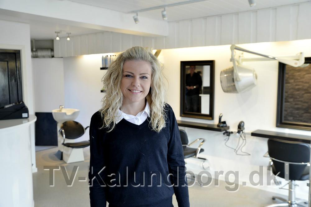 Lokalerne har gennemgået en opfriskning og Charlotte Åkerman er klar til at tage i mod kunderne. Foto: Jens Nielsen