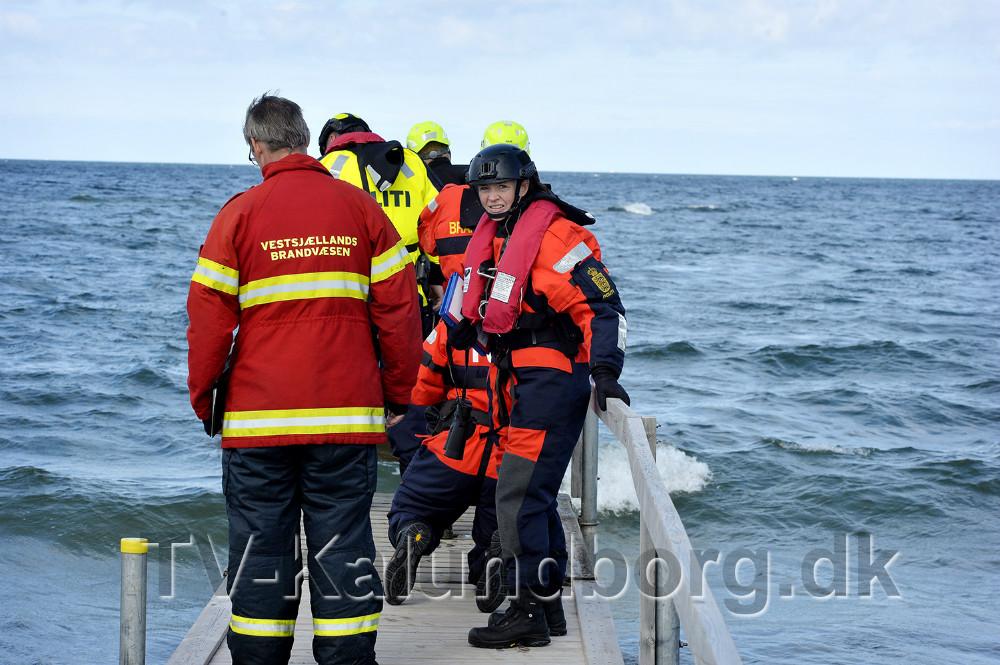 Specialenhed fra Det Maritime Sikkerhedspoliti med i øvelsen. Foto: Jens Nielsen