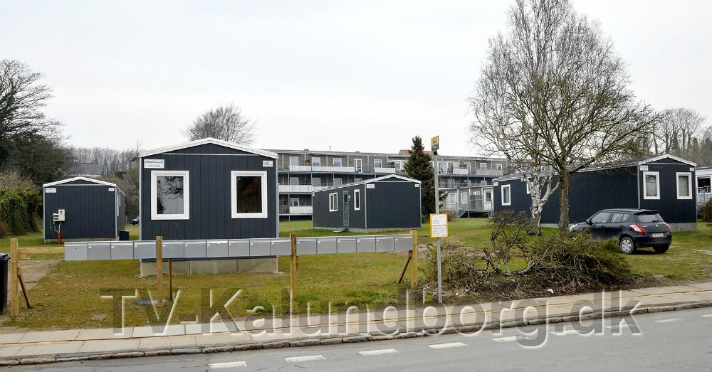Her på grunden på Lundevej planlægges opførelse af et treetagers boligklompleks. Foto: Jens Nielsen