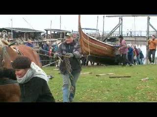 Vikingeskibe med hestekraft
