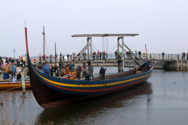 Vikingeskibsmuseet søsætter skibene