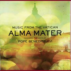 Paven synger med på ny CD