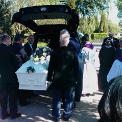 Pater Irenæus begravet i Nakskov